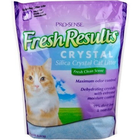 Fresh Results Crystal Cat Litter, 8 lbs - Shopatronics - One Stop Shop. Find the Best Selling Products Online Today