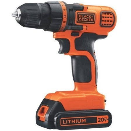Black & Decker 20V MAX Lithium Ion Drill/Driver, LDX120C - Shopatronics - One Stop Shop. Find the Best Selling Products Online Today
