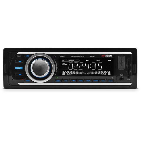 XO Vision XD107BT Car Stereo MP3/FM Receiver with Bluetooth - Shopatronics