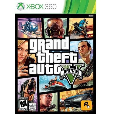 Grand Theft Auto V (Xbox 360) - Shopatronics