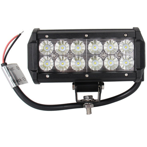 7 inch 36W Cree Led work light bar 12V led bar offroad light bar for truck flood  SUV - Shopatronics - One Stop Shop. Find the Best Selling Products Online Today