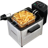 Proctor Silex 1.5 L Professional-Style Deep Fryer, Stainless Steel - Shopatronics