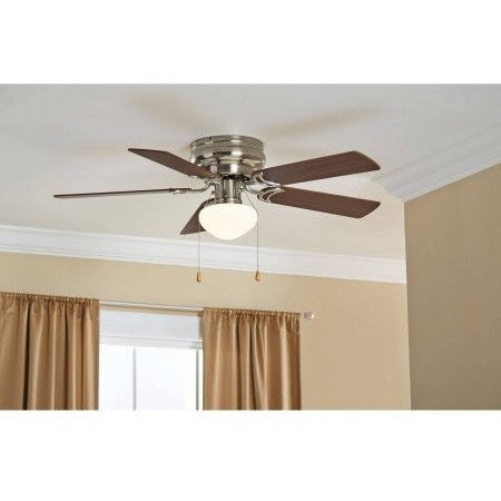 "42"" Mainstays Hugger with Globe, Satin Nickel - Shopatronics - One Stop Shop. Find the Best Selling Products Online Today"