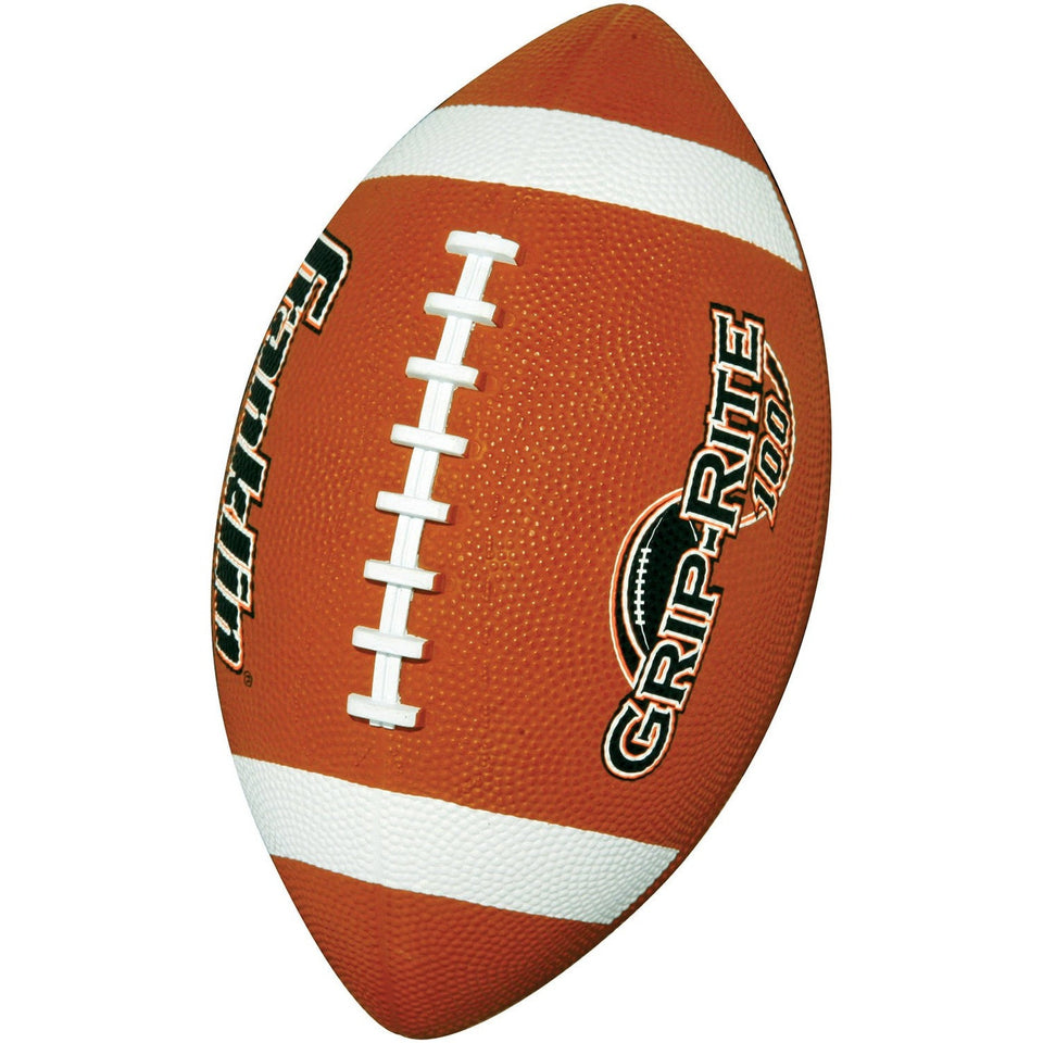 Franklin Sports Grip-Rite 100 Rubber Football, Junior - Shopatronics