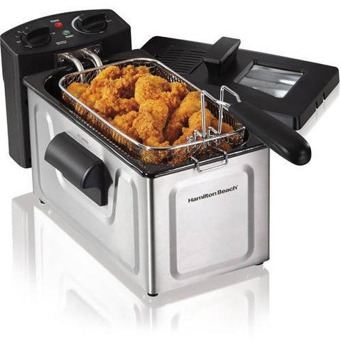 Hamilton Beach 2-Liter Deep Fryer, Stainless Steel - Shopatronics - One Stop Shop. Find the Best Selling Products Online Today