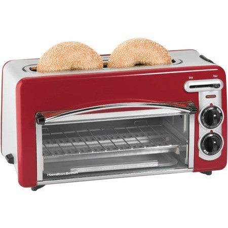 Hamilton Beach Toastation 2-in-1 2-Slice Toaster & Oven, 22703 - Shopatronics - One Stop Shop. Find the Best Selling Products Online Today