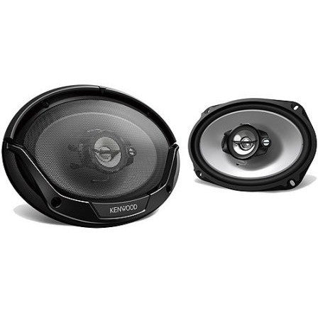 Kenwood 6x9 3-Way 400W Speakers - Shopatronics