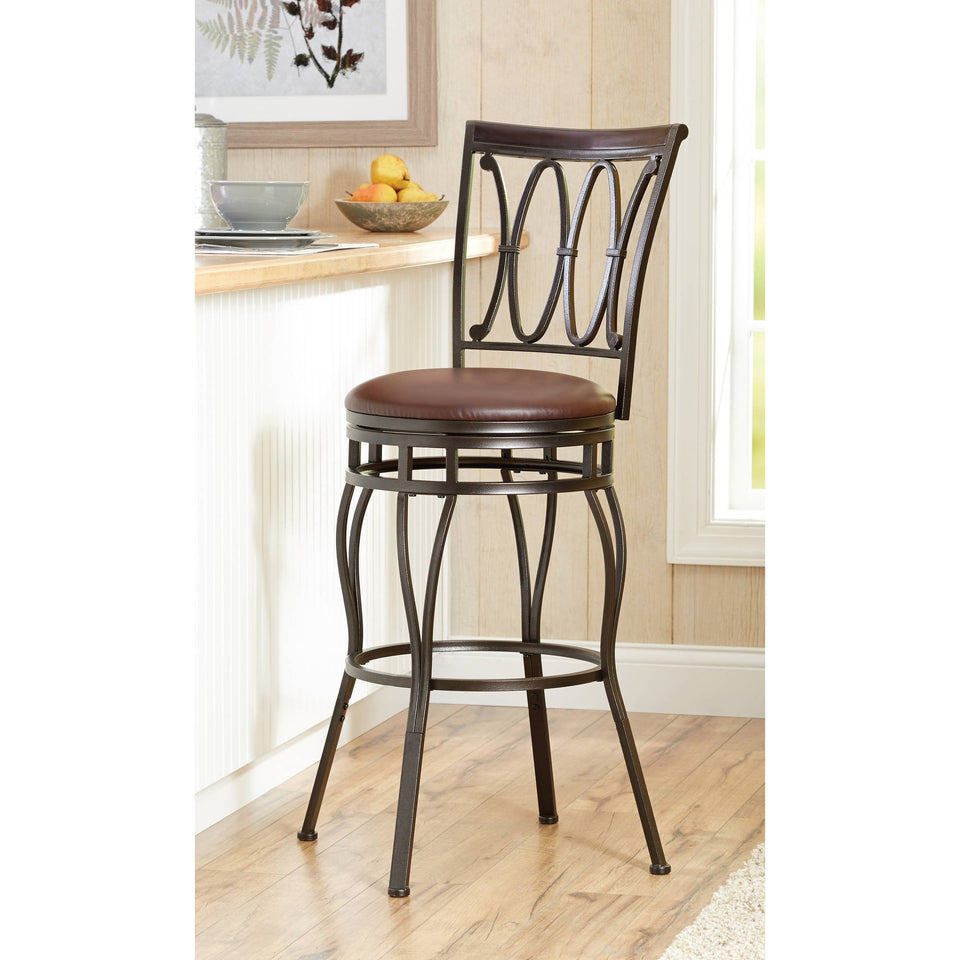 Better Homes and Gardens Adjustable Barstool, Oil Rubbed Bronze - Shopatronics - One Stop Shop. Find the Best Selling Products Online Today