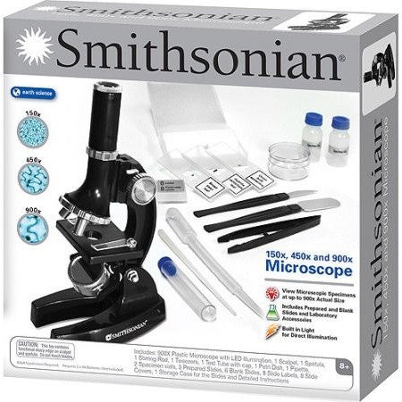 Smithsonian 150x/450x/900x Microscope Kit - Shopatronics - One Stop Shop. Find the Best Selling Products Online Today