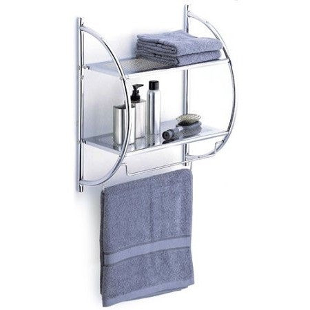 Neu Home 2-Tier Shelf with Towel Bars - Shopatronics