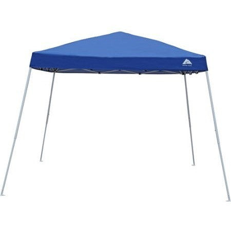 Ozark Trail 10x10 Slant Leg Instant Canopy/Gazebo Shelter (100 sq. ft Coverage) - Shopatronics
