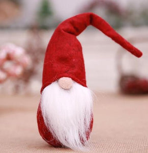 Christmas White Beard Christmas Elf Doll Decoration