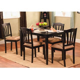 Metropolitan 5-Piece Dining Set, Multiple Colors - Shopatronics