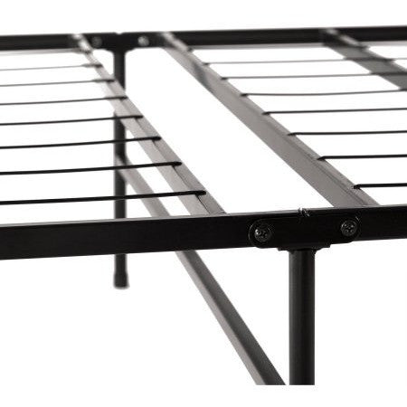 Spa Sensations Steel Smart Base Bed Frame Black, Multiple Sizes - Shopatronics