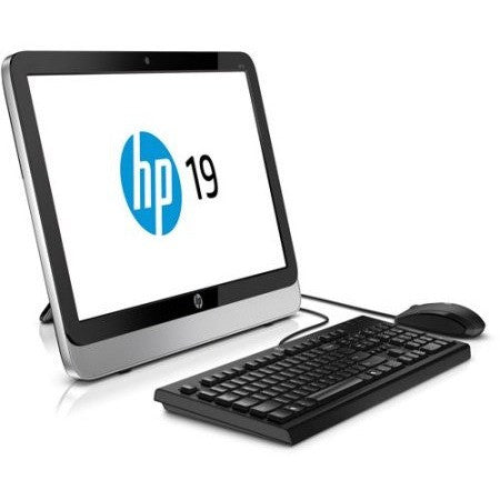 "HP Refurbished Pavilion 19-2113w All-in-One Desktop PC with Intel Celeron J1800 Processor, 4GB Memory, 19.45"" Display, 500GB Hard Drive and Windows 8.1 - Shopatronics"