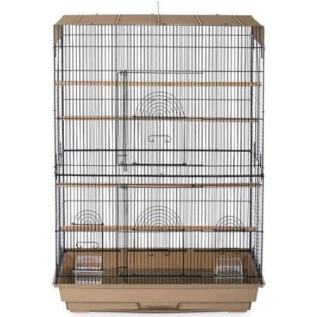 Prevue Pet Products Bird Flight Cage Brown & Black - Shopatronics