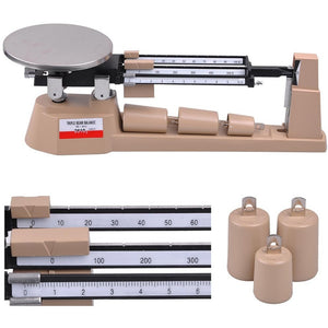 Triple Beam Mechanical Balance Scale 0.1g Weight Lab Business Home AMW TB-2610 - Shopatronics