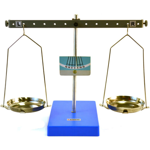 "Eisco Labs Pan Balance Scale Demonstration Lever - Low Friction Pivot, 10.6"" (27cm) Tall - Shopatronics - One Stop Shop. Find the Best Selling Products Online Today"