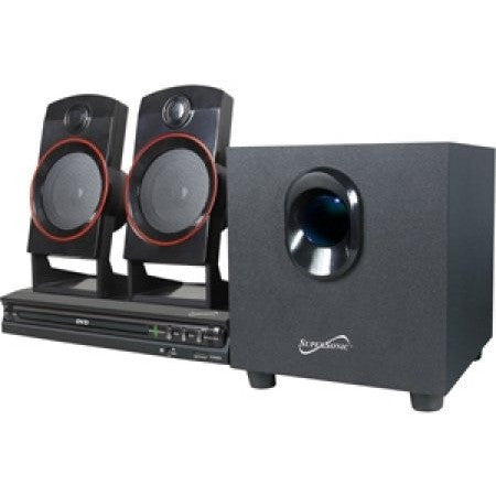 Supersonic 2.1 Channel DVD Home Theater System - Shopatronics