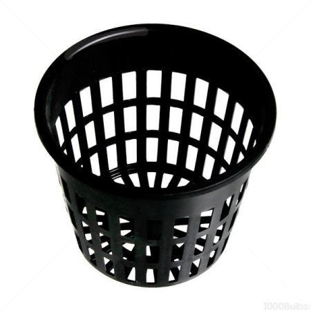 3 In. Plastic Net Cup   Round Plant Container   Hydrofarm HG3NETCUP    Shopatronics