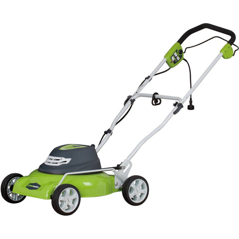 "Greenworks 18"" Electric-Powered Lawn Mower - Shopatronics - One Stop Shop. Find the Best Selling Products Online Today"