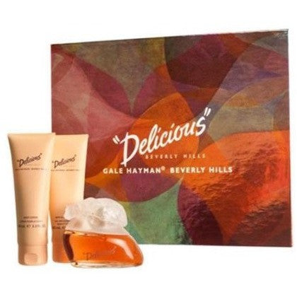Gale Hayman Delicious for Women Fragrance Gift Set, 3 pc - Shopatronics