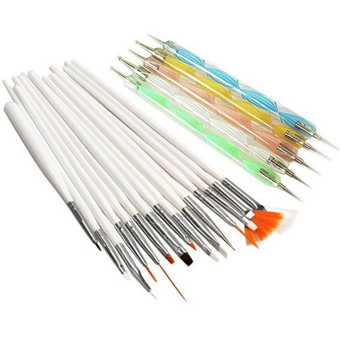 A set Nail Art Design Painting Tool Pen Polish Brush Set Kit Professional Nail Brushes Styling Nail Art Tools - Shopatronics - One Stop Shop. Find the Best Selling Products Online Today