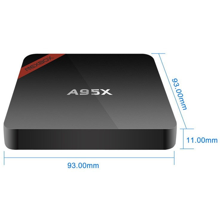 A95X Amlogic S905 Android 5.1 TV box 1G/8G Quad-core100M 1GB/8GB WiFi  H.265 Support UHD 4K Kodi 16.1 XBMC Fully loaded - Shopatronics - One Stop Shop. Find the Best Selling Products Online Today
