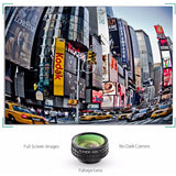 AUKEY 3 in 1 Clip-on Cell Phone Camera Lens Kit, 180 Degree Fisheye Lens + Wide Angle Lens+ 10 X Macro Lens for iPhone, Samsung, - Shopatronics - One Stop Shop. Find the Best Selling Products Online Today