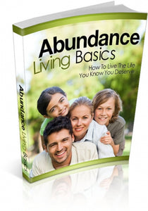 Abundance Living Basics E-book