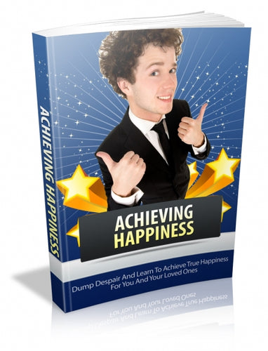 Achieving Happiness E-book