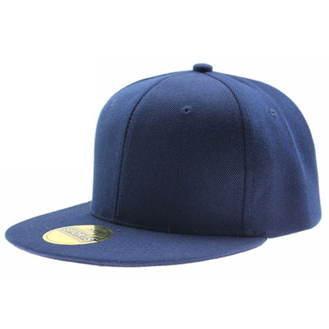 Adjustable Men Women Baseball Cap Solid Hip Hop Snapback Flat Peaked Hat Visor - Shopatronics - One Stop Shop. Find the Best Selling Products Online Today