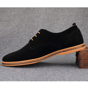 Hot Sale Fashion Men Leather Casual Shoes, Designer Casual Men Shoes, Black Lace Up Shoes Men - Shopatronics