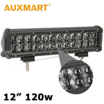Auxmart 12 inch 120W CREE Chips LED Light Bar Led Car Light Bar Offroad 12V 24V Truck ATV UTV SUV 4WD Tractor 4X4 - Shopatronics - One Stop Shop. Find the Best Selling Products Online Today