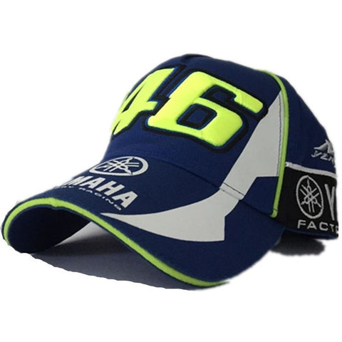 BLUE New Design F1 Racing Cap Car Motocycle Racing MOTO GP VR 46 Rossi Embroidery Sport Hiphop Cotton Trucker Baseball Cap Hat - Shopatronics - One Stop Shop. Find the Best Selling Products Online Today