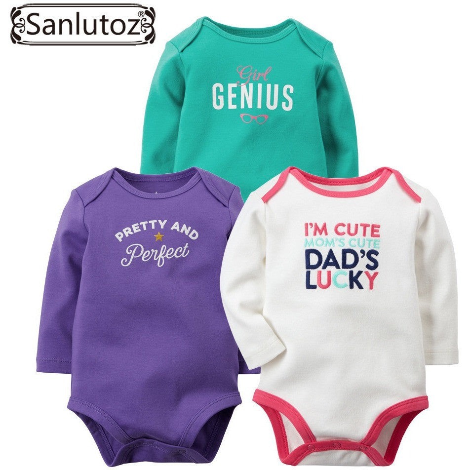 0a836bd90 Baby Rompers Set Newborn Clothes Baby Clothing Boys Girls Brand ...