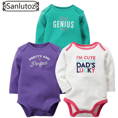 Baby Rompers Set Newborn Clothes Baby Clothing Boys Girls Brand Cotton Jumpsuits Long Sleeve Overalls Coveralls Winter - Shopatronics - One Stop Shop. Find the Best Selling Products Online Today