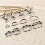 Bag Parts & Accessories Luggage Bronze Straps buckles Snap hook/Dog,Bag hanger Lobster Clasp D ring 8set/lot - Shopatronics - One Stop Shop. Find the Best Selling Products Online Today