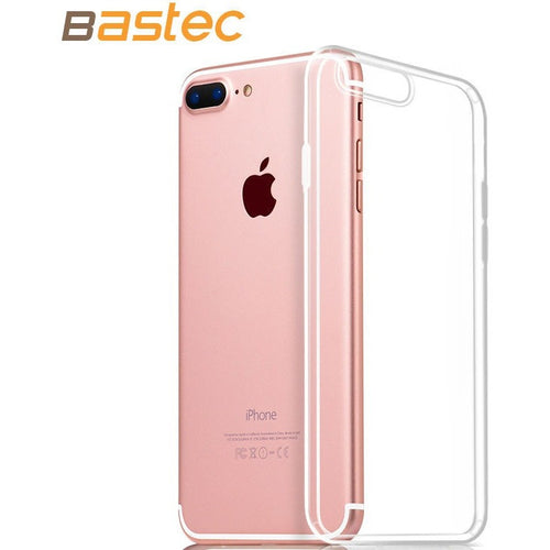 Bastec Clear TPU Phone Case for iPhone 7 7 Plus 6 6s Plus 5 5s se  0.3mm Ultra Thin HD Clear Crystal Soft Phone Cover Case - Shopatronics - One Stop Shop. Find the Best Selling Products Online Today