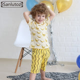 Boys Clothing Set Cotton Kids Clothes Summer Children Clothing Set for Boys Sport Suits Banana (Tshirts + Shorts) Brand 2016 - Shopatronics - One Stop Shop. Find the Best Selling Products Online Today