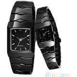 Brand Luxury Black Classic Couple Lover Women Men Quartz Full Stainless Steel Wrist Watch Items 08MX - Shopatronics - One Stop Shop. Find the Best Selling Products Online Today