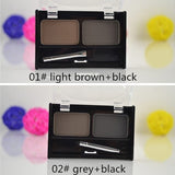 Brand New Waterproof Eyebrow Powder For Women, Eyeshadow Eye Brow With Brush 2 Color Eyebrow Cake Makeup Palette Make Up Set Kit - Shopatronics - One Stop Shop. Find the Best Selling Products Online Today