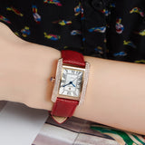 Brand Women Watches Women Genuine Leather Square reloj mujer Luxury Dress Watch Ladies Quartz Rose Gold Wrist Watch Montre Femme - Shopatronics - One Stop Shop. Find the Best Selling Products Online Today