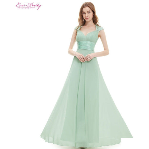 Bridesmaid Dresses V-neck Sequins Chiffon Empire Long Bridesmaid Dresses 2016 HE09672WH Mint Green White Coral Plus Size - Shopatronics - One Stop Shop. Find the Best Selling Products Online Today