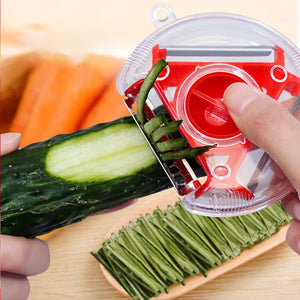 Magic Trio Peeler Set Slicer Stainless Steel Peeler Shredder Cutter