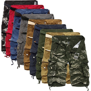 Cargo Shorts Men Cool Camouflage Summer Hot Sale Cotton Casual Men Short Pants Brand Clothing Comfortable Camo Men Cargo Shorts - Shopatronics - One Stop Shop. Find the Best Selling Products Online Today