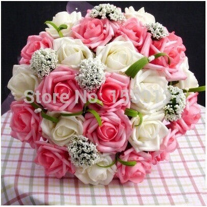 Cheap 2016 Wedding Accessories Bridal Bouquet Pink Red Purple Artificial Wedding Flowers Buque De Noiva High Quality 3302 - Shopatronics - One Stop Shop. Find the Best Selling Products Online Today