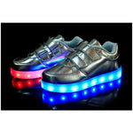 Children's LED Lights Shoes For Girls Boys Kids Glowing Sneakers Shoes Children Flats Footwear Chaussure Lumineuse Enfant J9P6 - Shopatronics - One Stop Shop. Find the Best Selling Products Online Today