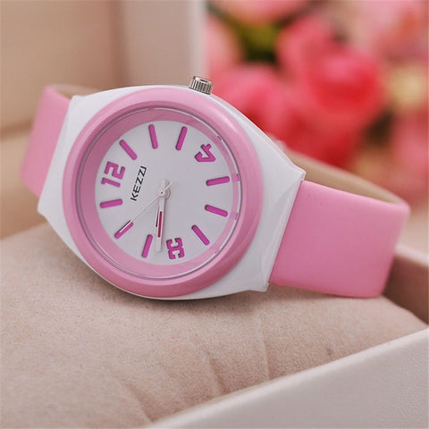 Children's Silicone Quartz Wrist Watches Kids Sports Watches Gift For Girls And Boys Students Wristwatches Colourful k681 - Shopatronics - One Stop Shop. Find the Best Selling Products Online Today