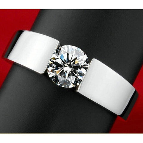 Classic Engagement Ring men 18K real white gold plated AAA  Arrows CZ Diamond lovers promise Ring for men women - Shopatronics - One Stop Shop. Find the Best Selling Products Online Today